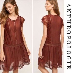 Anthropologie Floreat Sweetwater Lace Dress